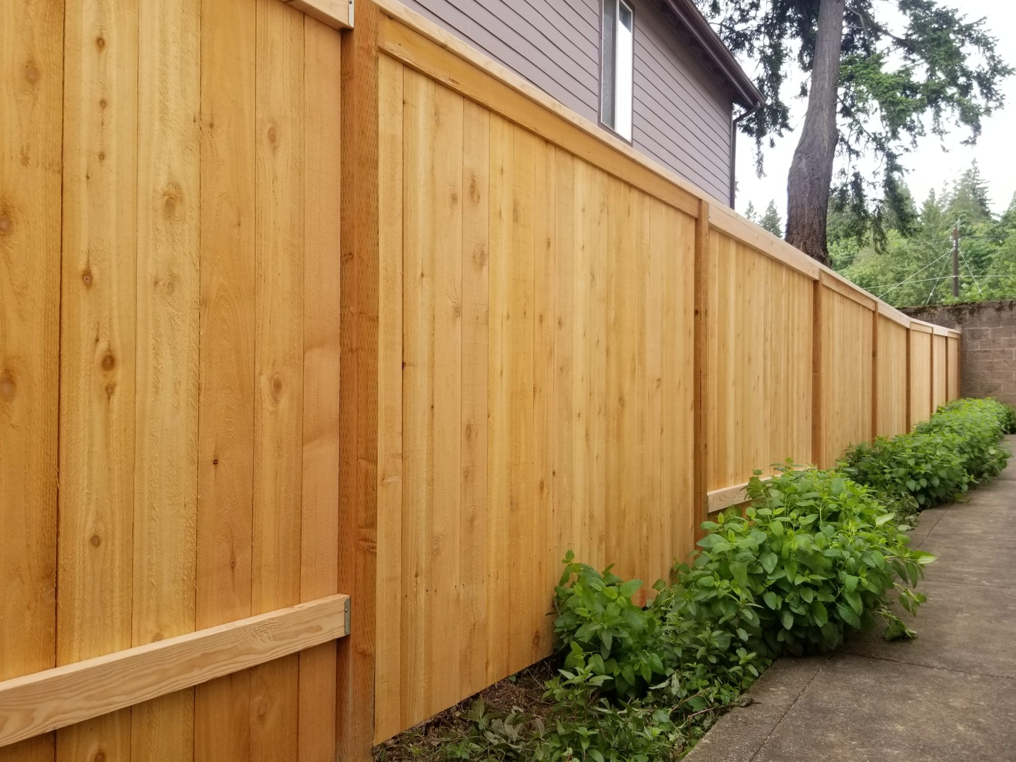 fence repair Vancouver WA